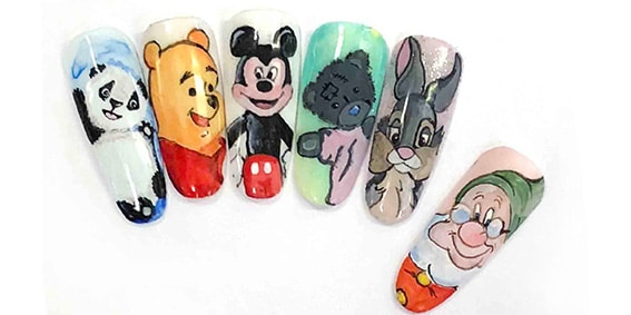 Hand Painted Cartoon Characters with Vikki Taylor Dodds