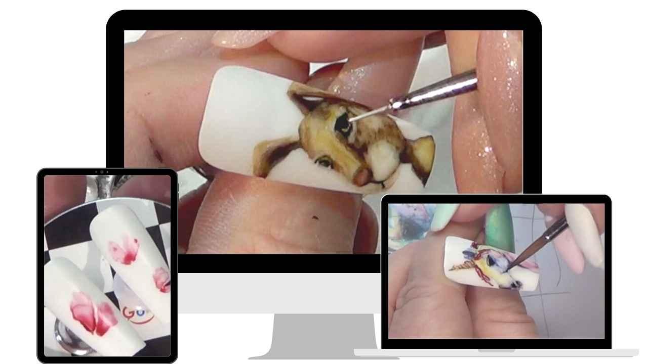 Watercolour Nails Mini Course